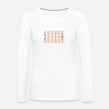 Coffee Bean Coffee Beans are the best Beans - Women's Premium Long Sleeve T-Shirt