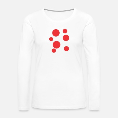 Red Red Stain Funny - Women's Premium Long Sleeve T-Shirt