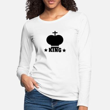 King Kong The king - Women's Premium Longsleeve Shirt
