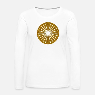 Association CIRCLES KREISE GOLD 17 - Women's Premium Long Sleeve T-Shirt