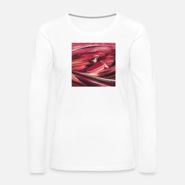 Ink Abstract Paint Mix 25 - Women's Premium Long Sleeve T-Shirt