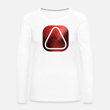 Square SQUARES VIERECKE ROT 20 - Women's Premium Long Sleeve T-Shirt