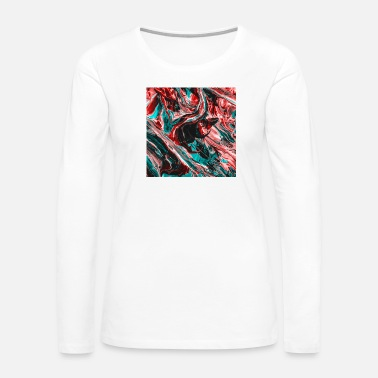 Abstract Abstract Sadness I - Women's Premium Long Sleeve T-Shirt
