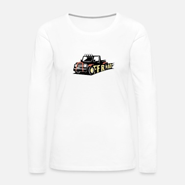 Official Person Truck off road - Women's Premium Long Sleeve T-Shirt