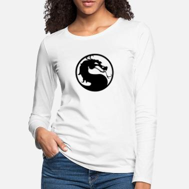 Mortal Mortal Dragon - Women's Premium Longsleeve Shirt