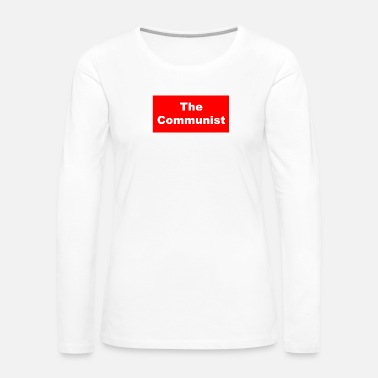 Communist The Communist - Women's Premium Long Sleeve T-Shirt