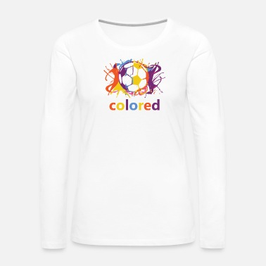 Coloring colored - Women's Premium Long Sleeve T-Shirt