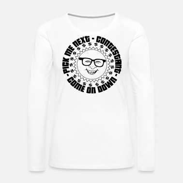Right TV Game Show Contestant - TPIR (The Price Is...) - Women's Premium Long Sleeve T-Shirt