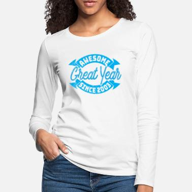 Awesome May Cool 16th Birthday Gift - Women's Premium Longsleeve Shirt