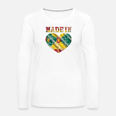 Grenada Grenada - Women's Premium Long Sleeve T-Shirt