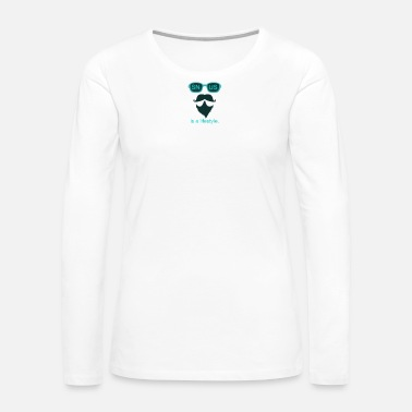 Gentleman SNUS is a lifestyle Dad Gift Idea christmas - Women's Premium Long Sleeve T-Shirt