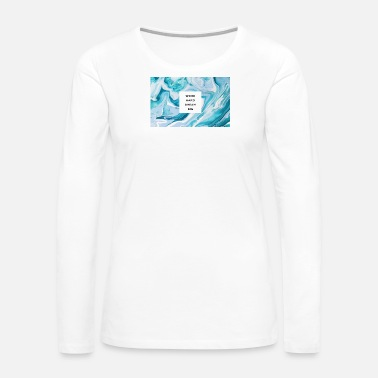Marble marble type - Women's Premium Long Sleeve T-Shirt