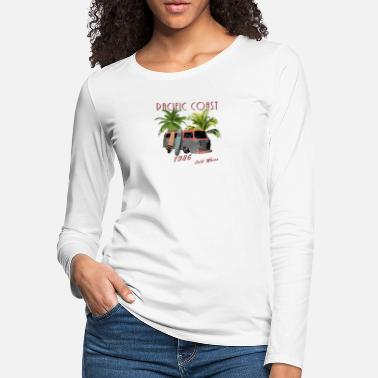 Pacific Pacific Coast Surfing - Women's Premium Longsleeve Shirt