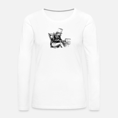 Smoker The Smoker - Women's Premium Long Sleeve T-Shirt