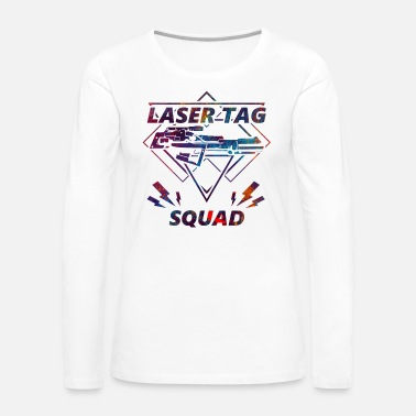 Shot Laser tag squad gun soldier sport gift - Women's Premium Long Sleeve T-Shirt