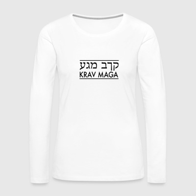Krav Maga - Women's Premium Long Sleeve T-Shirt