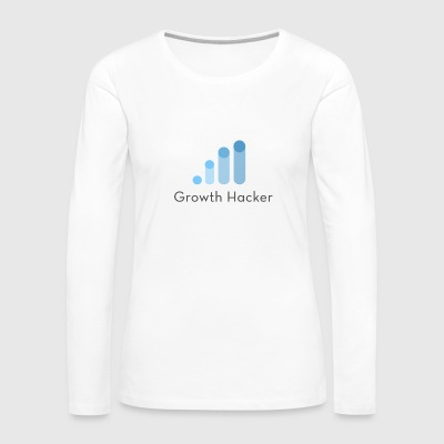 Growth hacker - Women's Premium Long Sleeve T-Shirt
