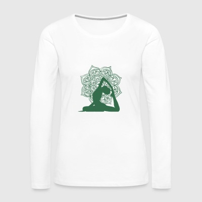 Yoga Asana 3 - Women's Premium Long Sleeve T-Shirt
