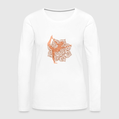 Yoga Asana 4 - Women's Premium Long Sleeve T-Shirt
