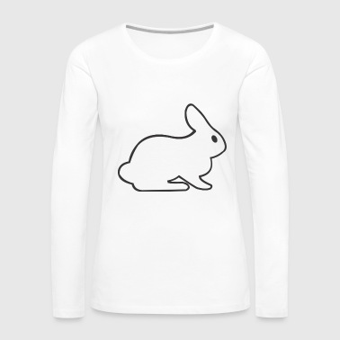 White Rabbit - Women's Premium Long Sleeve T-Shirt