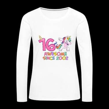 Unicorn Spirit Birthday Love - Women's Premium Long Sleeve T-Shirt