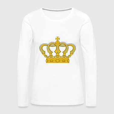 Luxury Crown - Women's Premium Long Sleeve T-Shirt