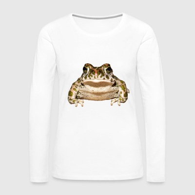frog frosch kroete toad animal tiere - Women's Premium Long Sleeve T-Shirt