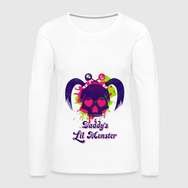 Daddys Lil Monster - Women's Premium Long Sleeve T-Shirt