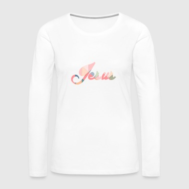 JESUS - Women's Premium Long Sleeve T-Shirt