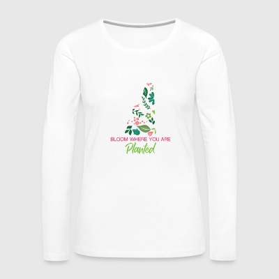 Bloom - Women's Premium Long Sleeve T-Shirt