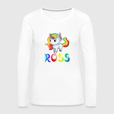 Ross Unicorn - Women's Premium Long Sleeve T-Shirt