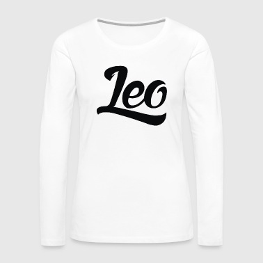 Leo - Women's Premium Long Sleeve T-Shirt