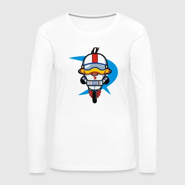 Hello Gizmo wall - Women's Premium Long Sleeve T-Shirt