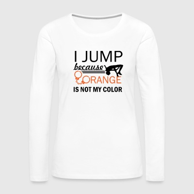 show jump design - Women's Premium Long Sleeve T-Shirt