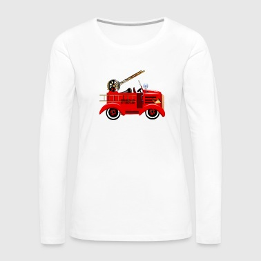 Fire Truck - Women's Premium Long Sleeve T-Shirt