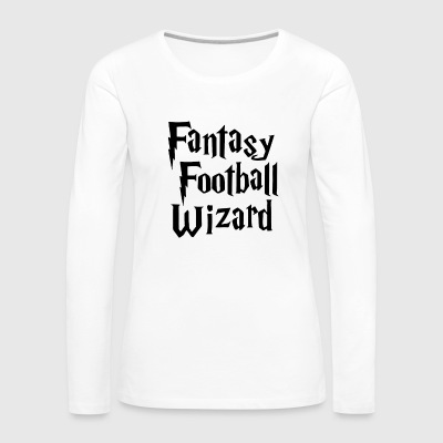 Fantasy Football Wizard - Women's Premium Long Sleeve T-Shirt