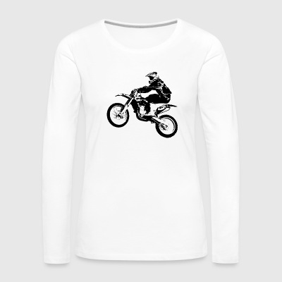 bikers-racing-sport-motorcycling-racing - Women's Premium Long Sleeve T-Shirt