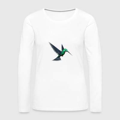 Green Humming Bird - Women's Premium Long Sleeve T-Shirt