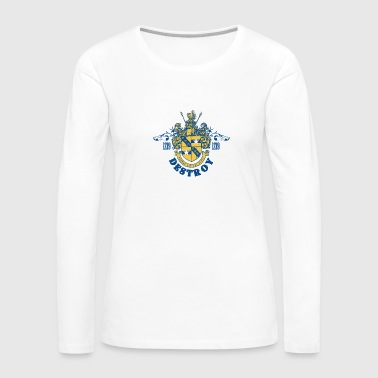 Destroy emblem - Women's Premium Long Sleeve T-Shirt