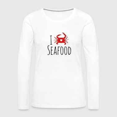 Seafood Lover - Women's Premium Long Sleeve T-Shirt