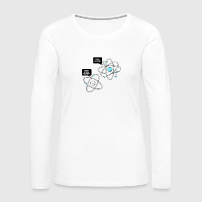 Negative Atom - Women's Premium Long Sleeve T-Shirt
