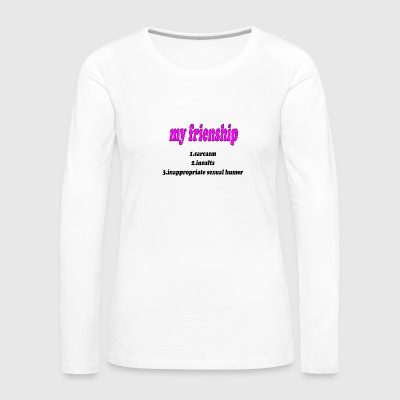 inapropriate - Women's Premium Long Sleeve T-Shirt