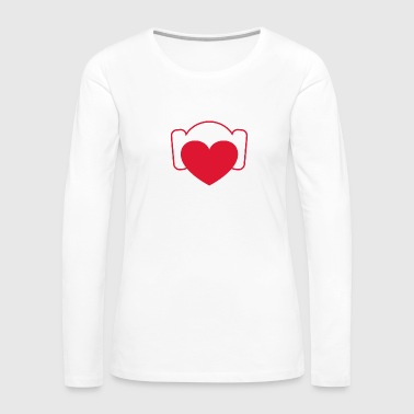 Love Leia - Women's Premium Long Sleeve T-Shirt