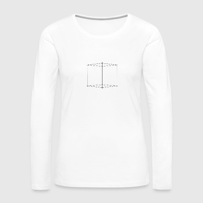cube - Women's Premium Long Sleeve T-Shirt