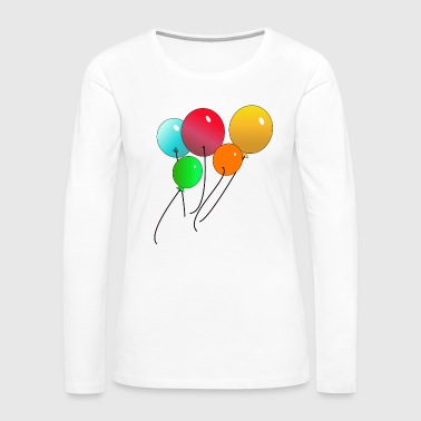 Balloons - Women's Premium Long Sleeve T-Shirt