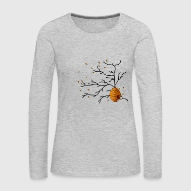 Honey Bees - Women's Premium Long Sleeve T-Shirt