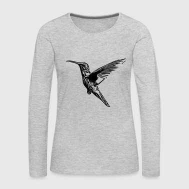 Hummingbird - Women's Premium Long Sleeve T-Shirt