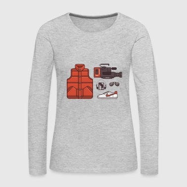 back to the future - Women's Premium Long Sleeve T-Shirt
