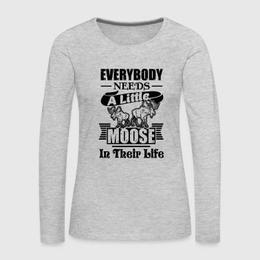 Moose Moose Shirt - Women's Premium Long Sleeve T-Shirt