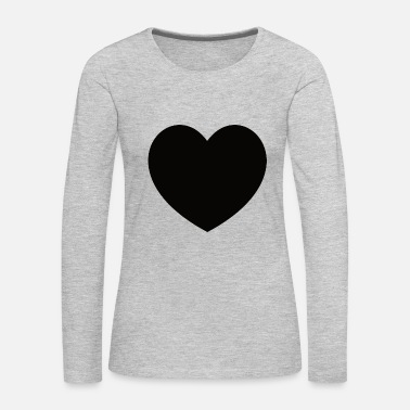 Black-heart Black Heart - Women's Premium Long Sleeve T-Shirt